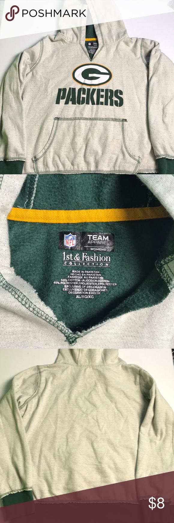 a189ea1e Green Bay Packer hoodie Green Bay Packer Hoodie size XL NFL Sweaters ...