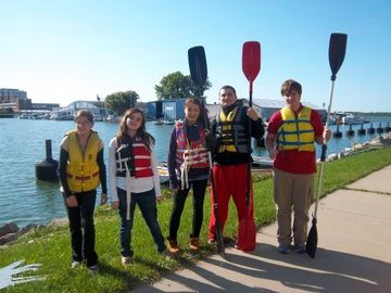 Project SAIL, an after school program where students (ages 15-18) participate in hands-on, maritime based educational and vocational training.