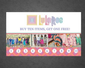 Custom LuLaRoe Business Cards Design Option 1 by PencoMedia ...