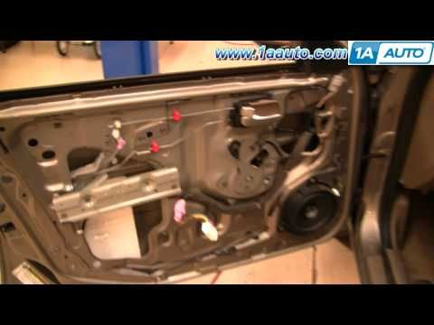 How To Install Replace Power Window Motor or Regulator