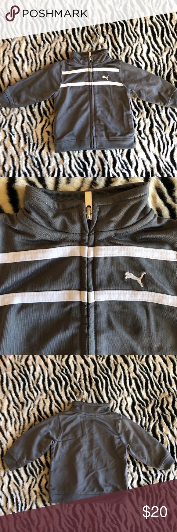 f2ed21c91f5d Baby Puma Sport Lifestyle Gray Track Jacket Baby Puma Sport Lifestyle Gray  Track Jacket. Size 3-6M. Puma Jackets   Coats