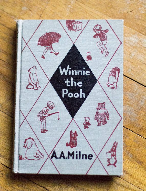Book Winnie The Pooh By A Milne August 1950 Published E P Dutton Co Inc