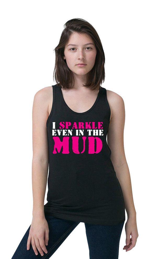 95db6170 Mud Run Tank Top - Funny Running Tank - Half Marathon - 5k - Mud Run Tutu - Workout  Tank - Group Running Tanks