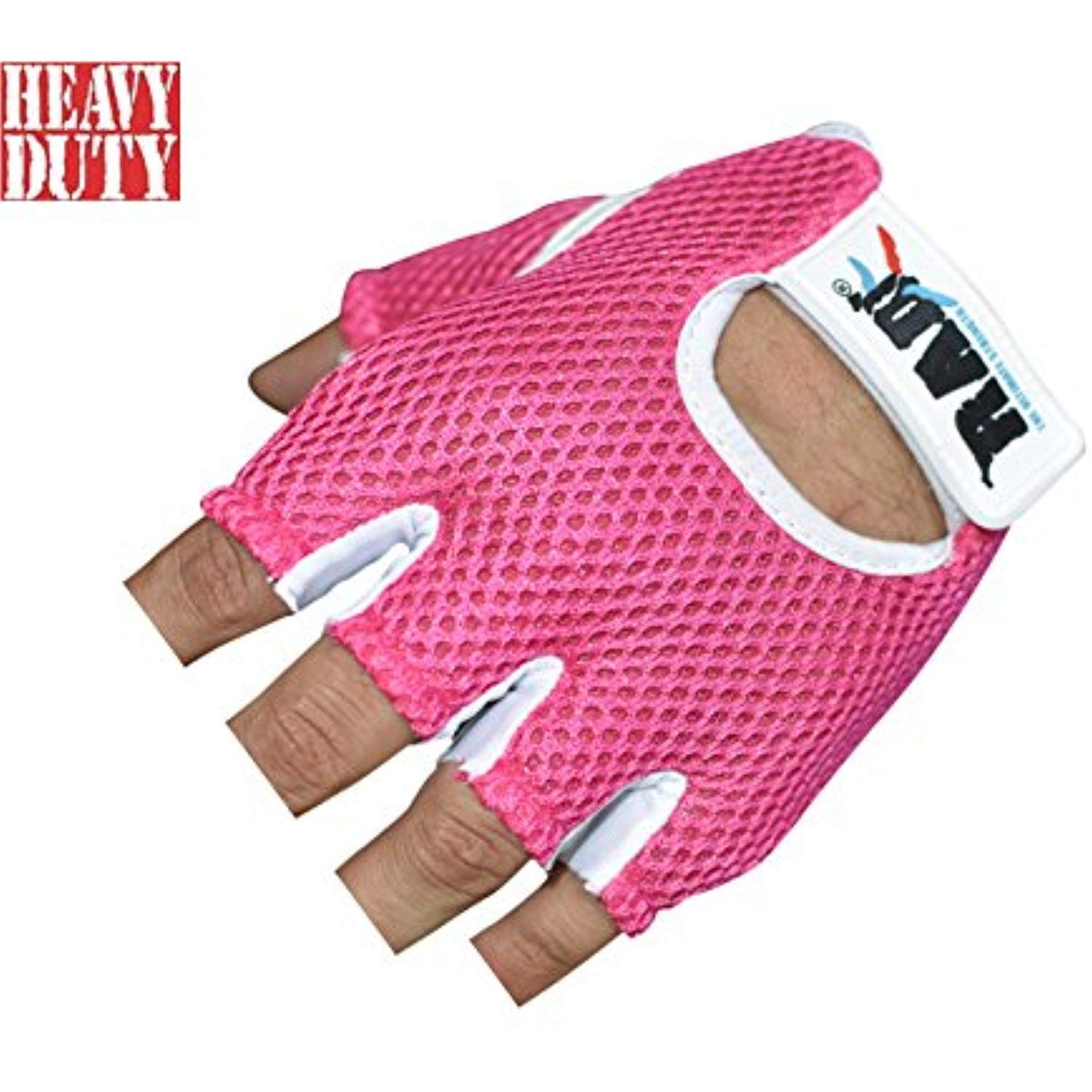 Leather Weight Lifting Gloves Gym Training Fitness Exercise Bodybuilding Workout
