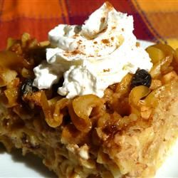 Microwave Apple Kugel Allrecipes.com