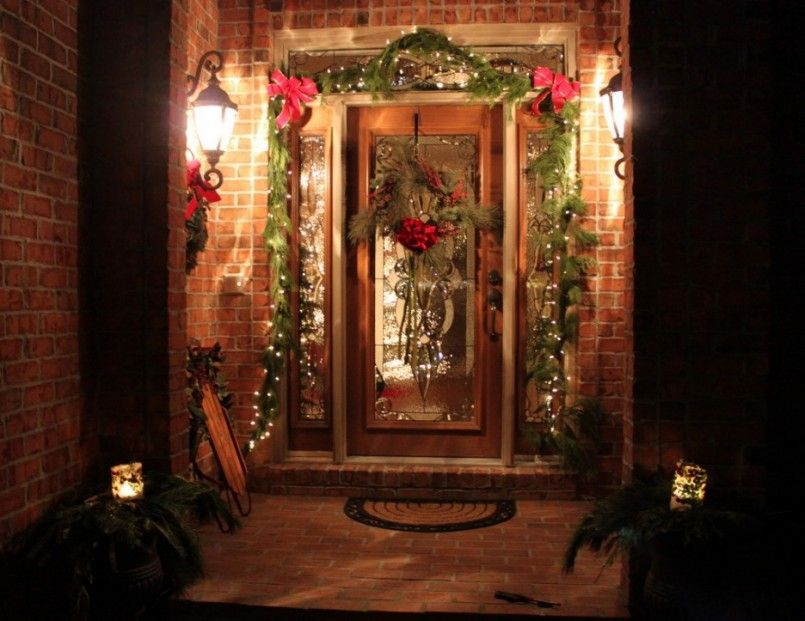 Decorating, Terrace Outdoor Christmas Decorations Pic20: Amazing Outdoor Christmas Decorations