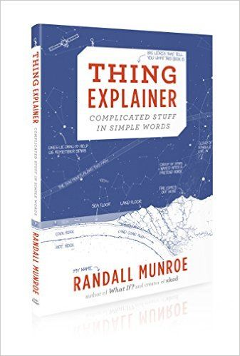 Thing Explainer Complicated Stuff In Simple Words Randall Munroe 9781473620919 Amazon Com Books Simple Words Words New Things To Learn
