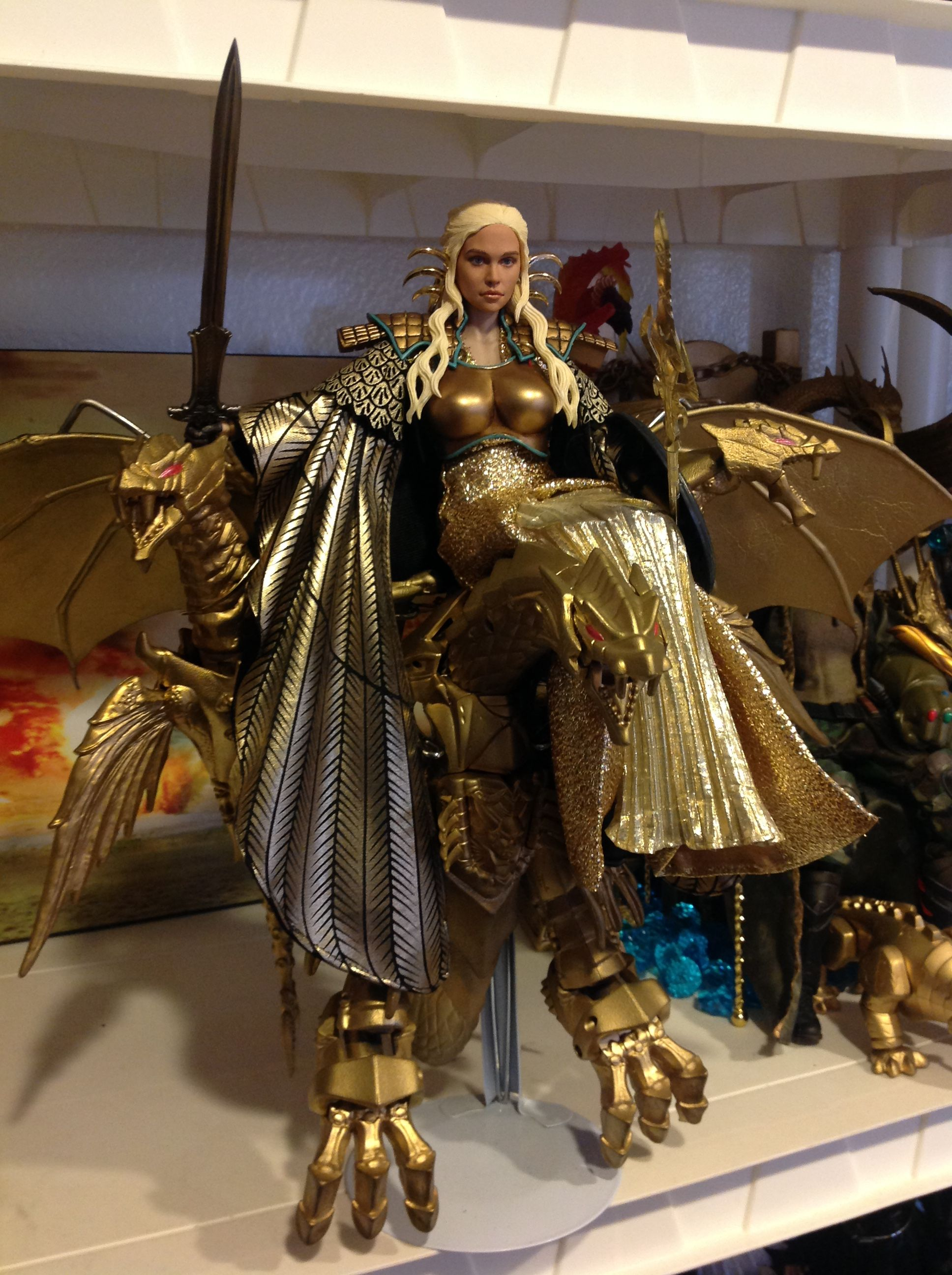 Daenerys Targaryen 1/6 Game of Thrones custom Wonder