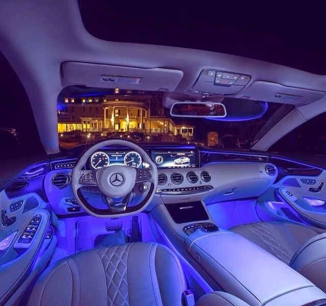 mercedes s class coupe interior lighting. Black Bedroom Furniture Sets. Home Design Ideas