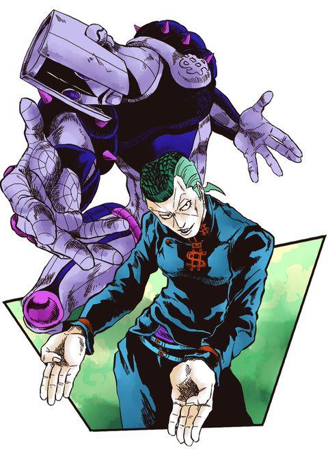 Okuyasu Nijimura and The Hand