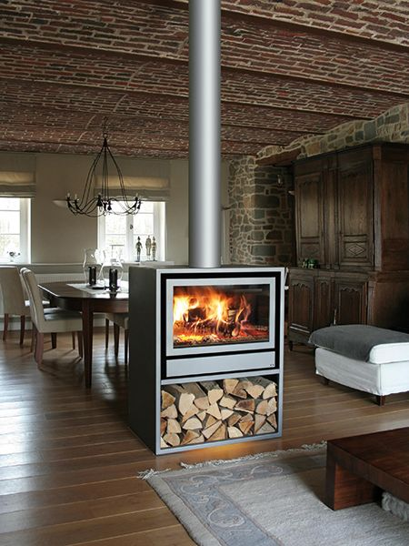 Free Standing Double Sided Freestanding Fireplace Standing Fireplace Home Fireplace