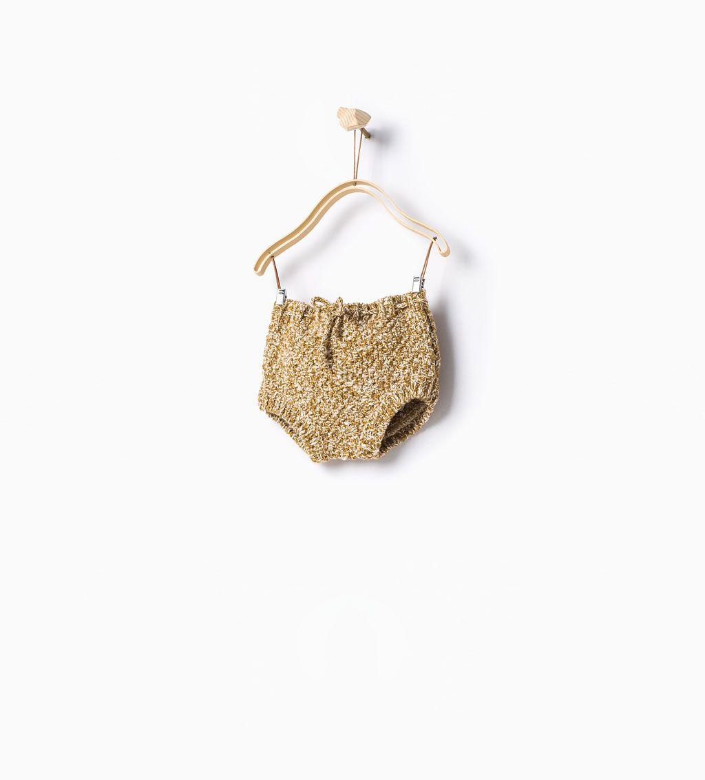 Knit romper suit-Knitwear-Mini | Newborn-12 months-KIDS | ZARA United States
