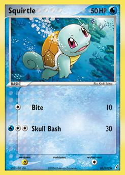 Squirtle 007 Pokemon Pokemon Cards Pokemon Eeveelutions