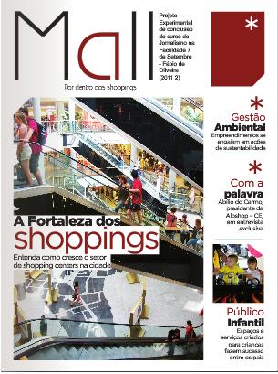 Revista especializada. Produção de conclusão do curso de Jornalismo do Fábio Oliveira.