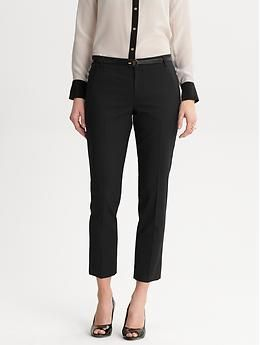 3b99ef2f My quest for the perfect pants is over! If you're petite with short legs  and wide hips like me, try Banana Republic's Logan Slim Fit. The ankle pants  fit my ...