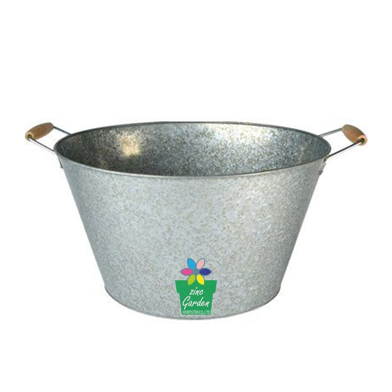 Time To Source Smarter Party Tub Wood Tub Galvanized Metal