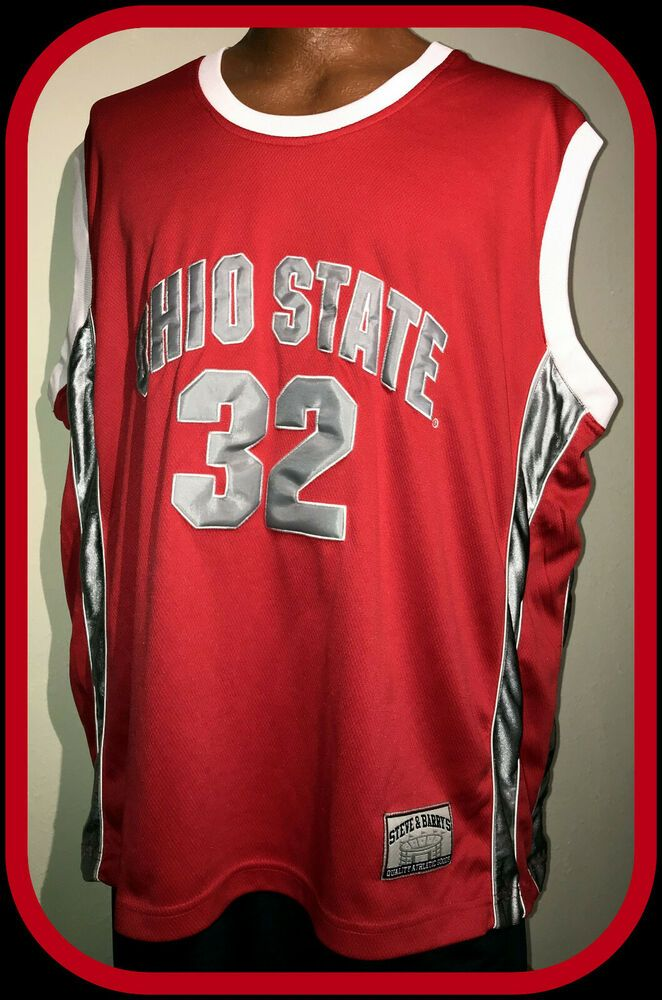 OHIO STATE BUCKEYE COLOSSEUM ATHLETIC EMBROIDERED BASKETBALL JERSEY ADULT XLARGE #ColosseumAthletics #OhioStateBuckeyes #ohiostatebuckeyes