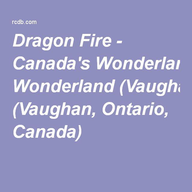 Dragon Fire - Canada's Wonderland (Vaughan, Ontario, Canada)