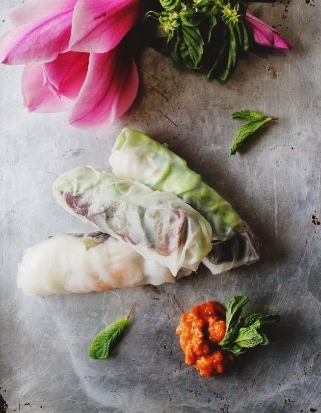 Make Vietnamese Fresh Spring Rolls