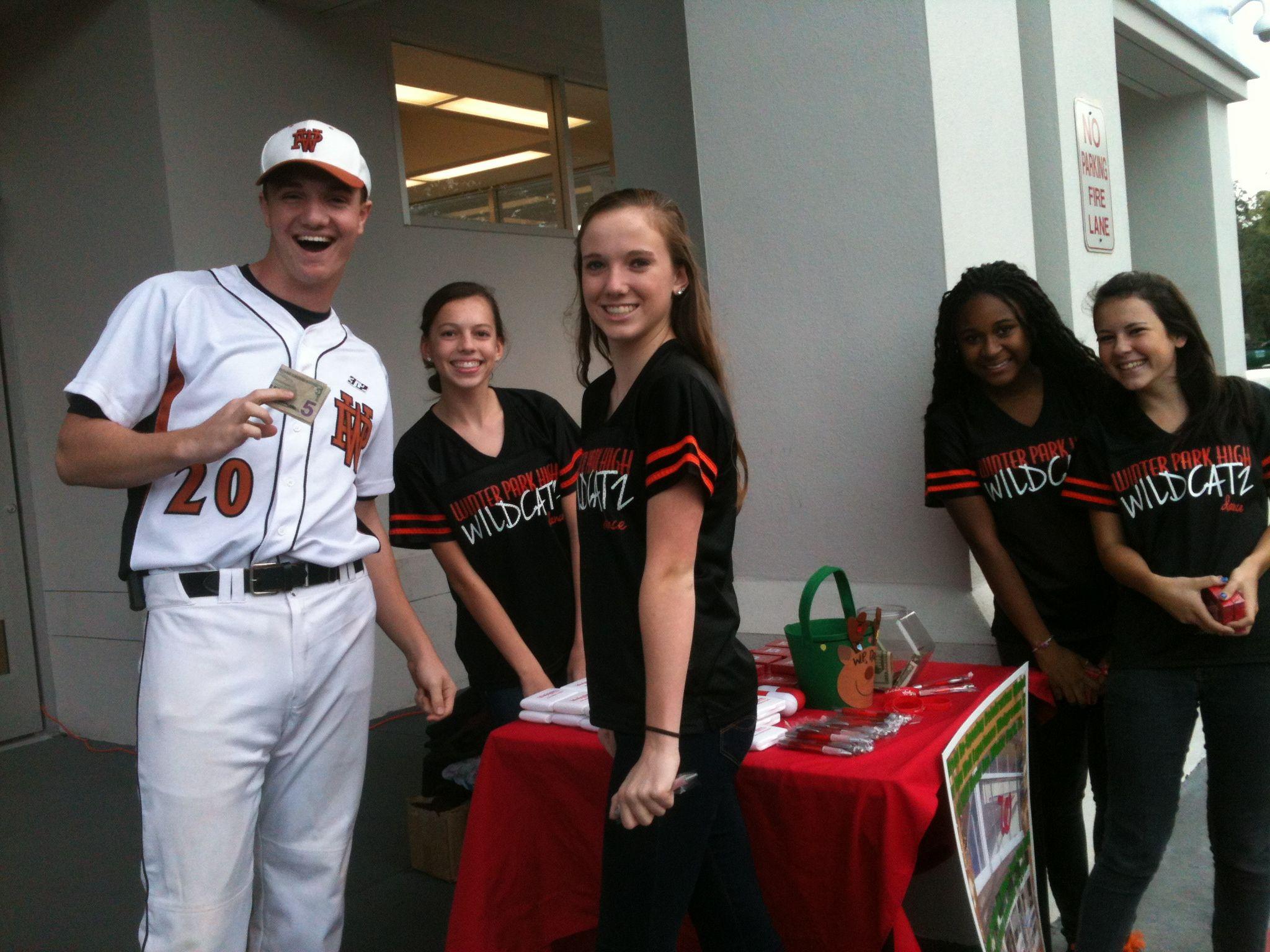 The Varsity Baseball Team And Dance Team Doing Their Thing At The Walgreens The Varsity Dance Teams Baseball Team