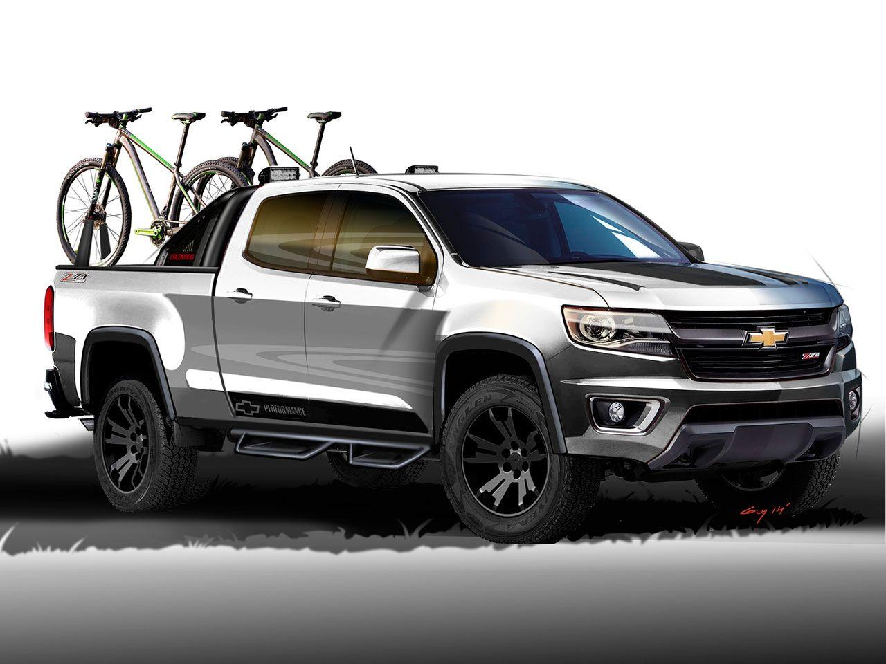 2014 Chevrolet Colorado Sport Concept Design Sketch Chevrolet