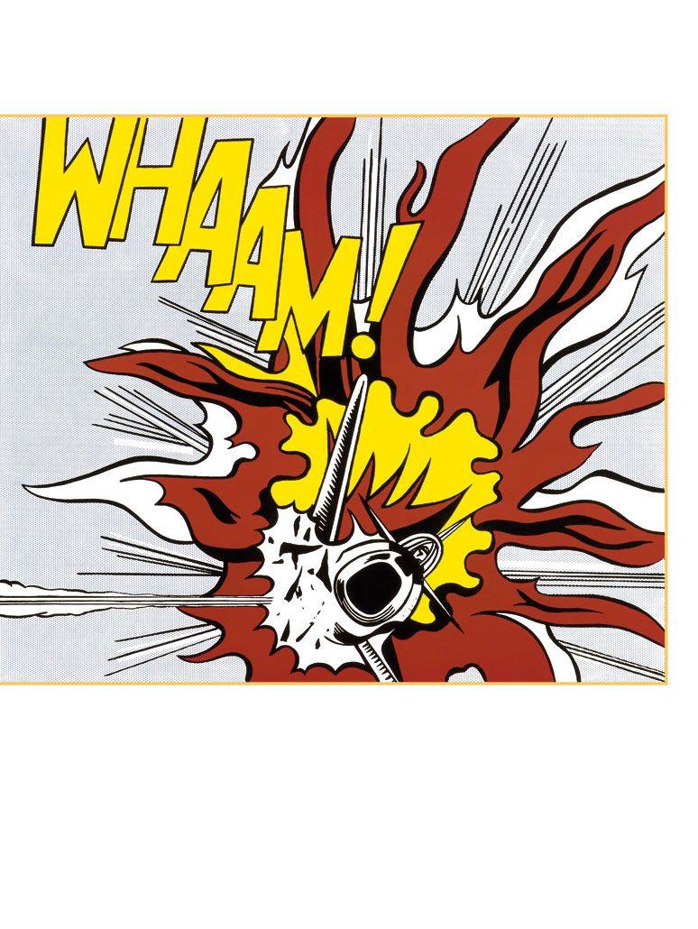 VOERTUIG Roy Lichtenstein Pop art. Roy lichtenstein