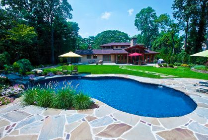 Guide to diy pool landscaping pool landscaping pool for Pool design guide