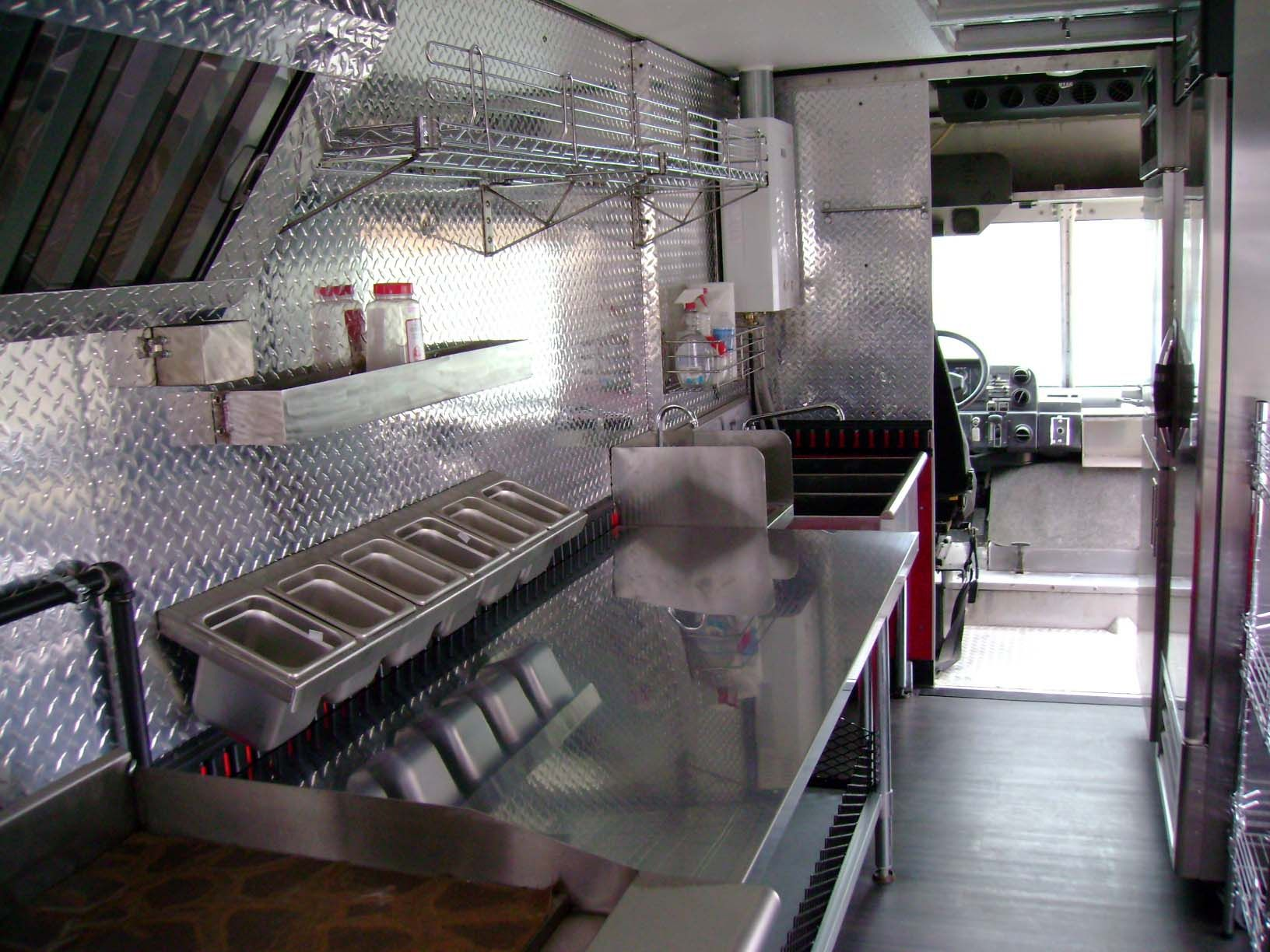 Food truck interior … | Food Trucks | Pinterest - Voedsel ...