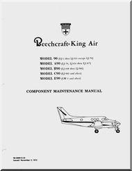 beechcraft king air 90 thru e90 aircraft component maintenance rh pinterest co uk king air maintenance manuals online king air maintenance training manual