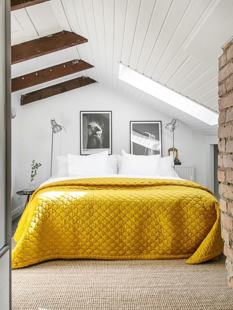 Wohnideen Schlafzimmer, Schöne Sachen, Schöner Wohnen, Rund Ums Haus,  Farben, Dachgeschoss Schlafzimmer, Mansarde Designs, Schlafzimmer  Innengestaltung, ...