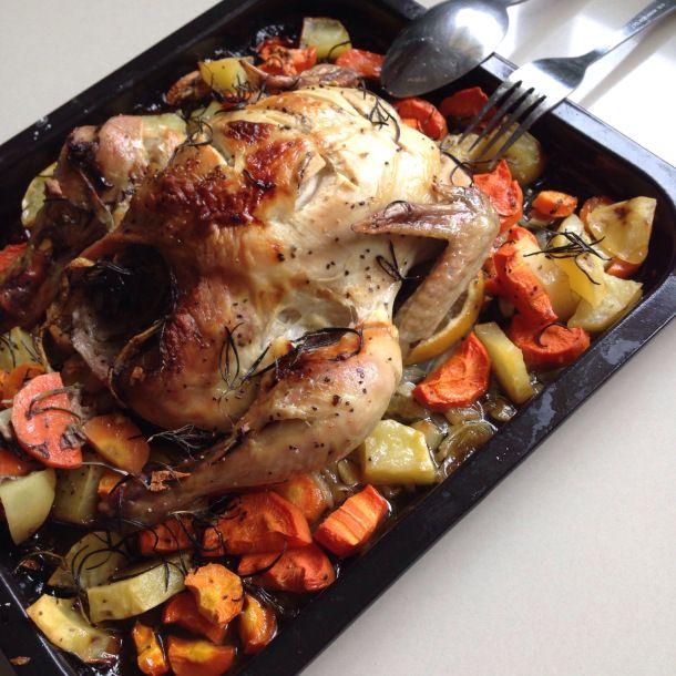 Roasted Chicken Recipe Ayam Panggang Resep Panggang