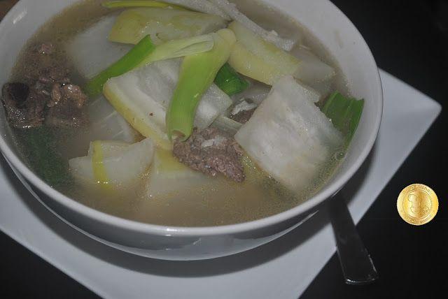 Patyskitchen Korean Radish Soup Sup Lobak Putih Ala Korea Lobak Sup Resep Makanan