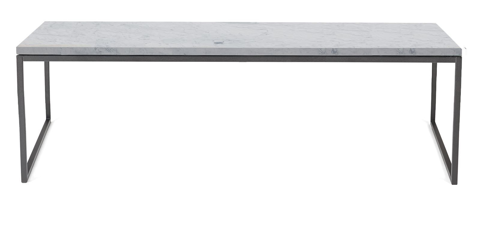 Como Couchtisch 60x120 Medium   Marmor