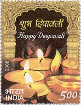 Rainbow Stamp Club Festivals Of India Deepawali