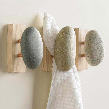 Stone Towel Hook