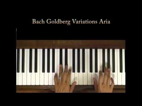 Bach Goldberg Variations Aria Piano Tutorial Slow Youtube Piano Tutorial Piano Bach