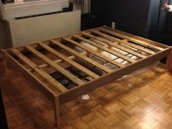 Full Size Very Simple Bed Frame Simple Bed Frame Bed Frame