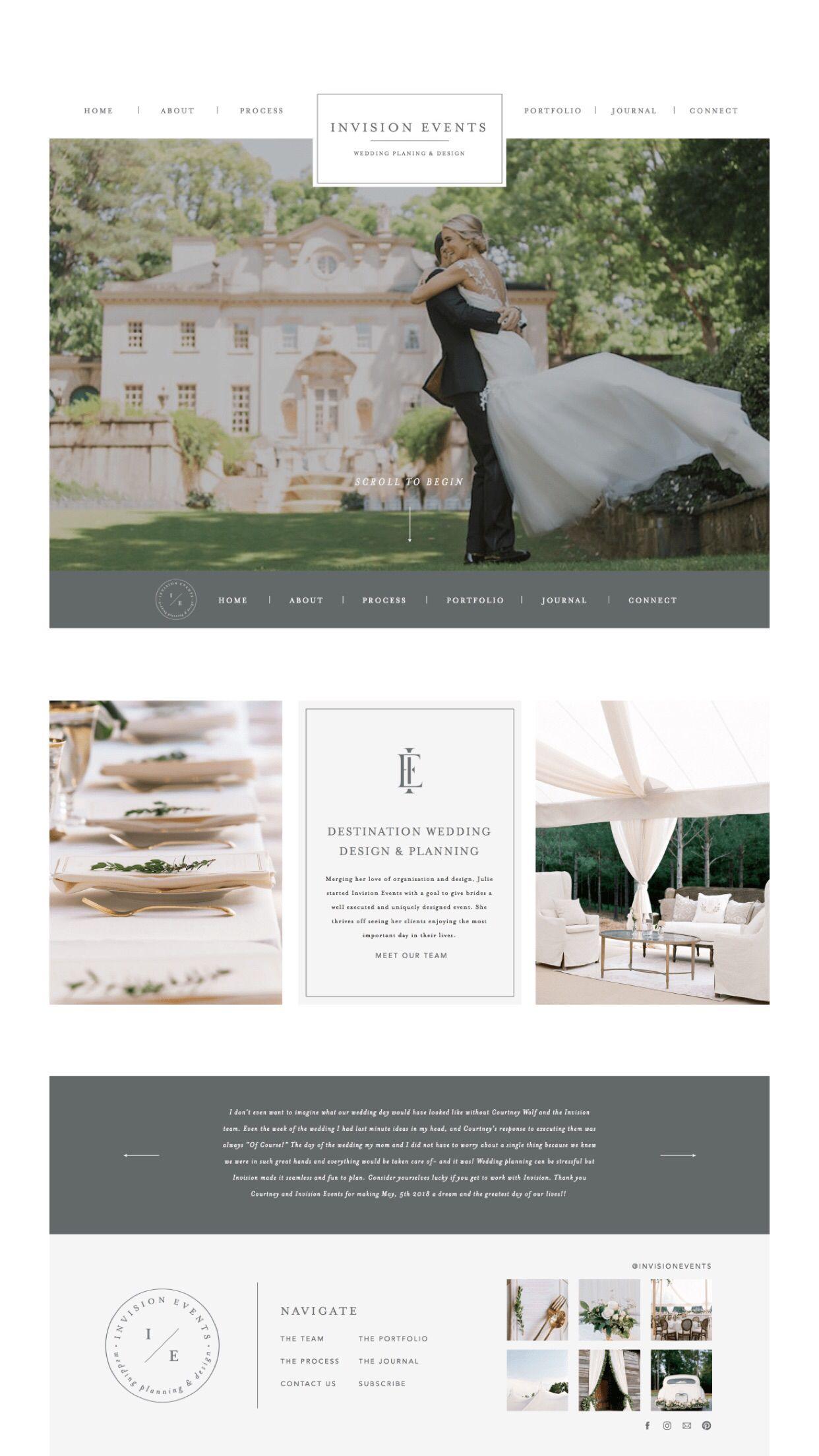 Wedding Planner Branding Wedding Planner Website Event Planner Branding Wedding Planner Brand