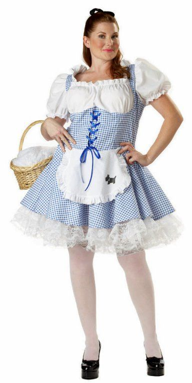 plus size storybook dorothy costume - candy apple costumes