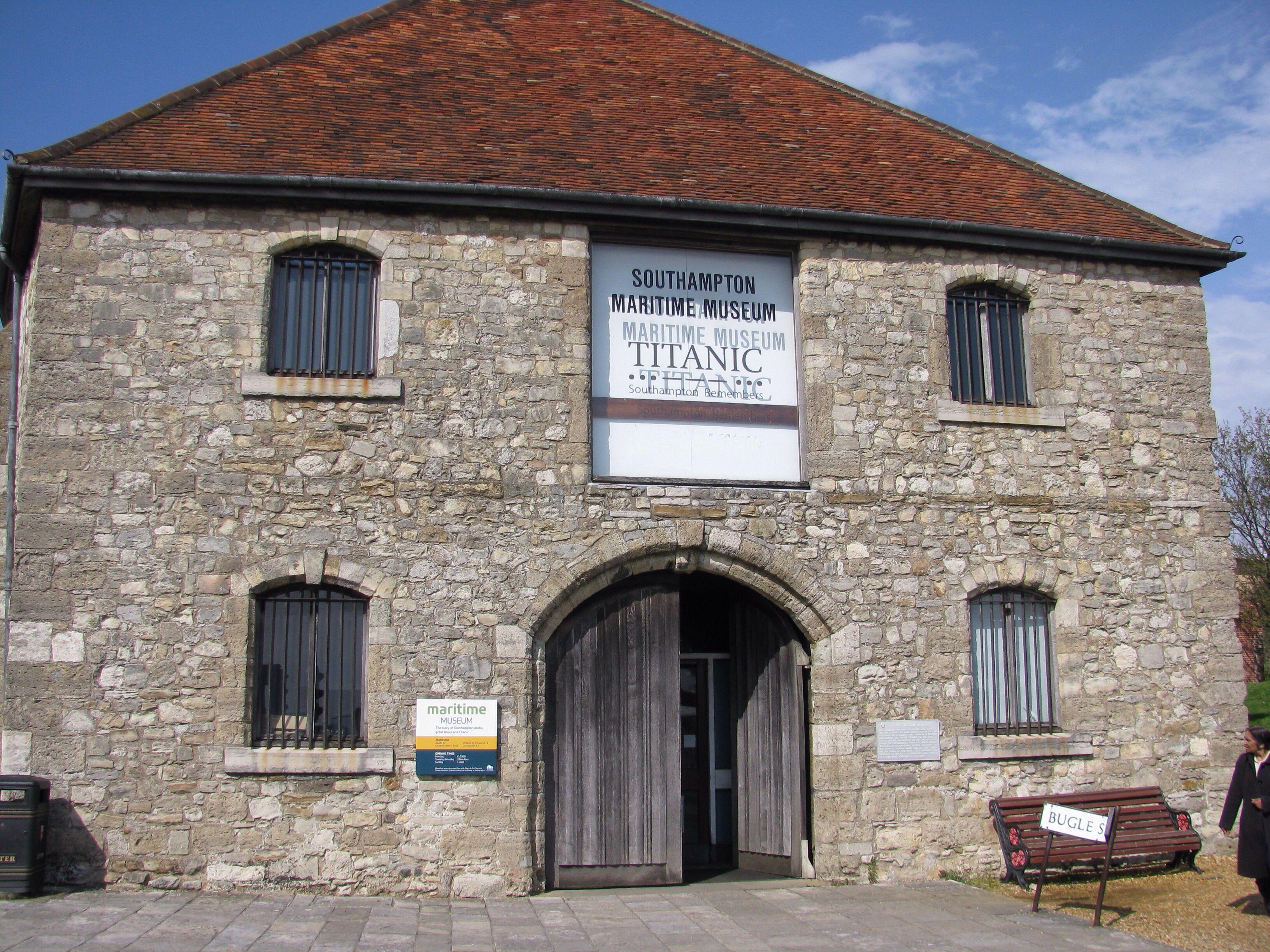 Southampton Maritime Museum Titanic Museum Titanic Titanic Underwater