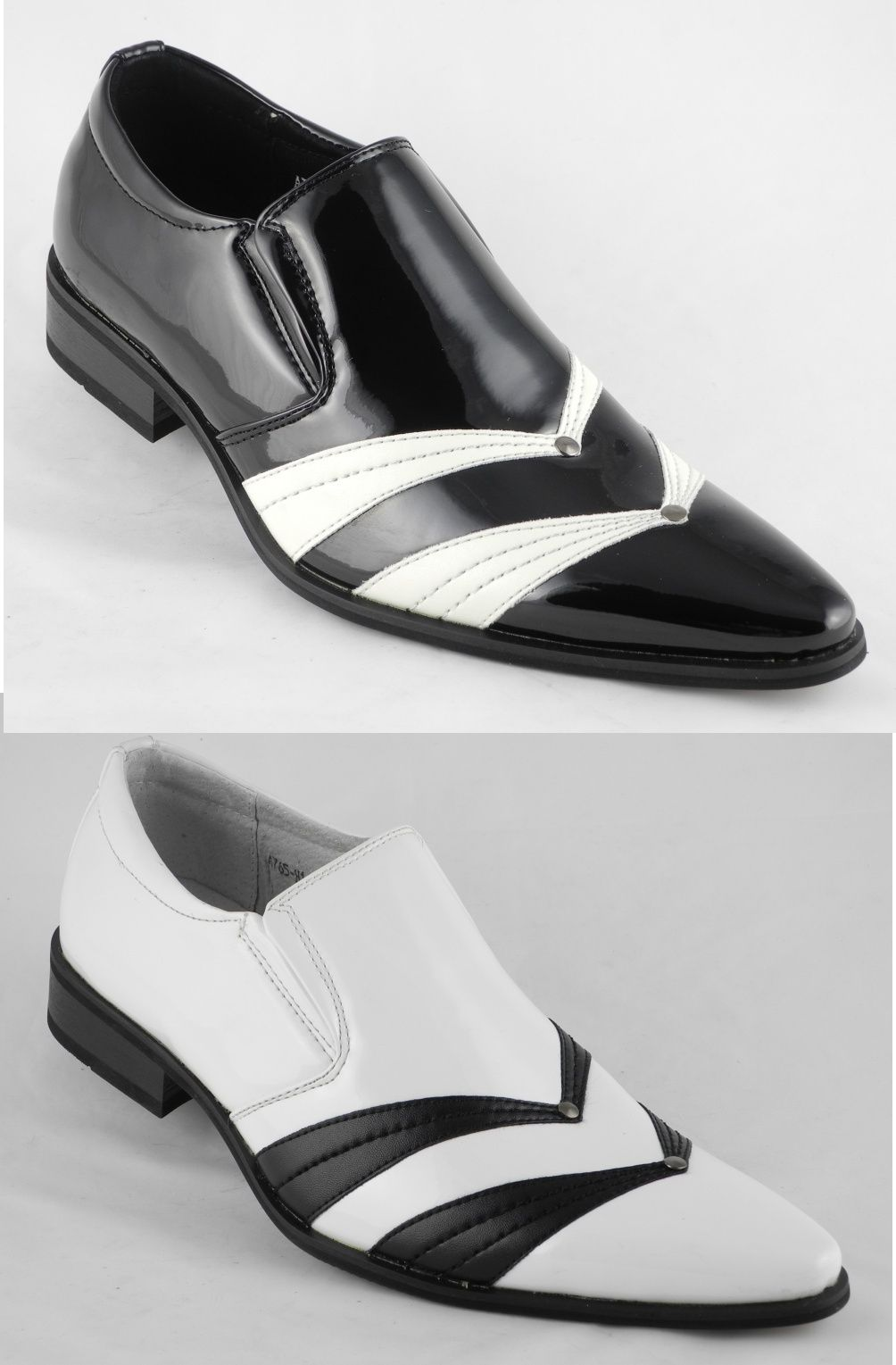 Mens Black And White Dress Shoesmens White Dress Shoes Ebay