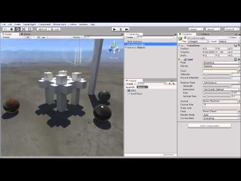 Unity Tip: How to align a directional light with skybox sun