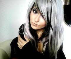 This is how I want me hair but more black than platinum!! @Tara Harmon Harmon biersack