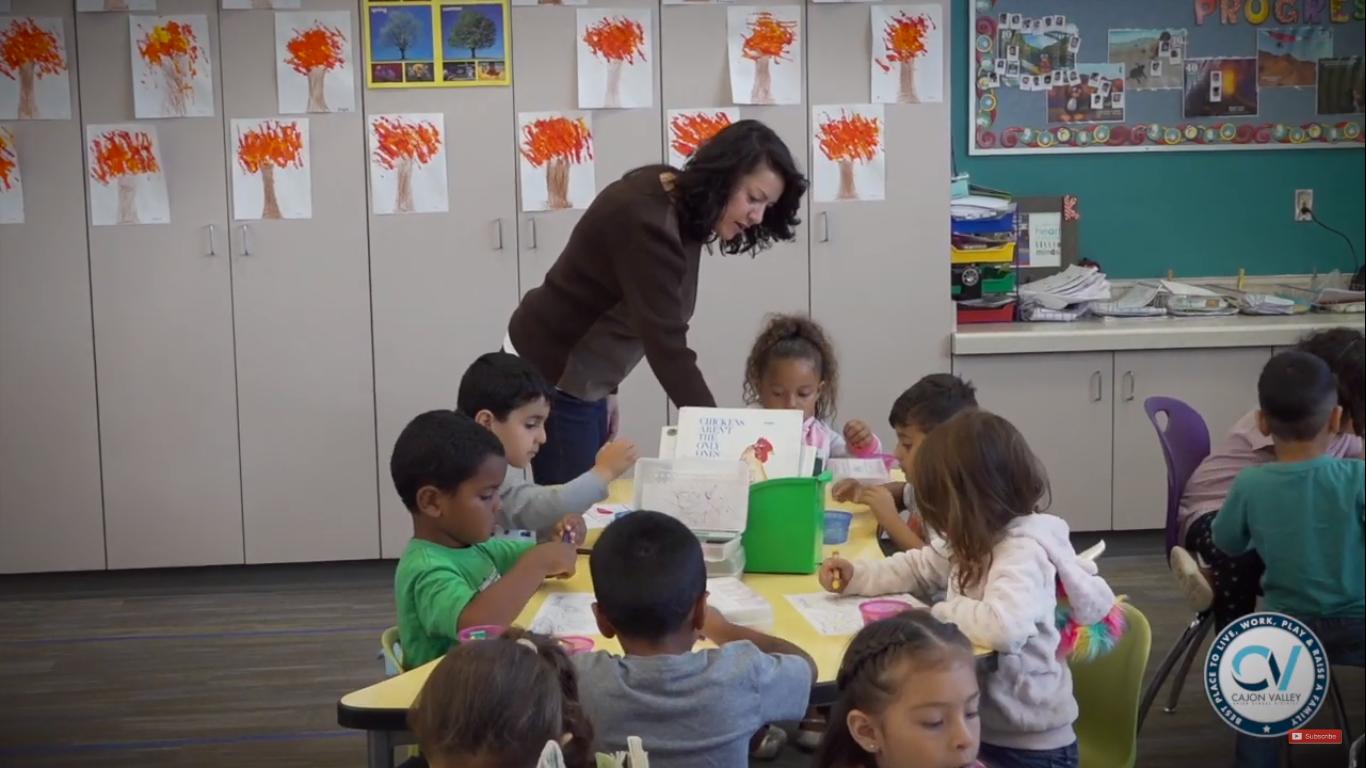 Magnolia Elementary School Teacher Teams Elevate Classroom