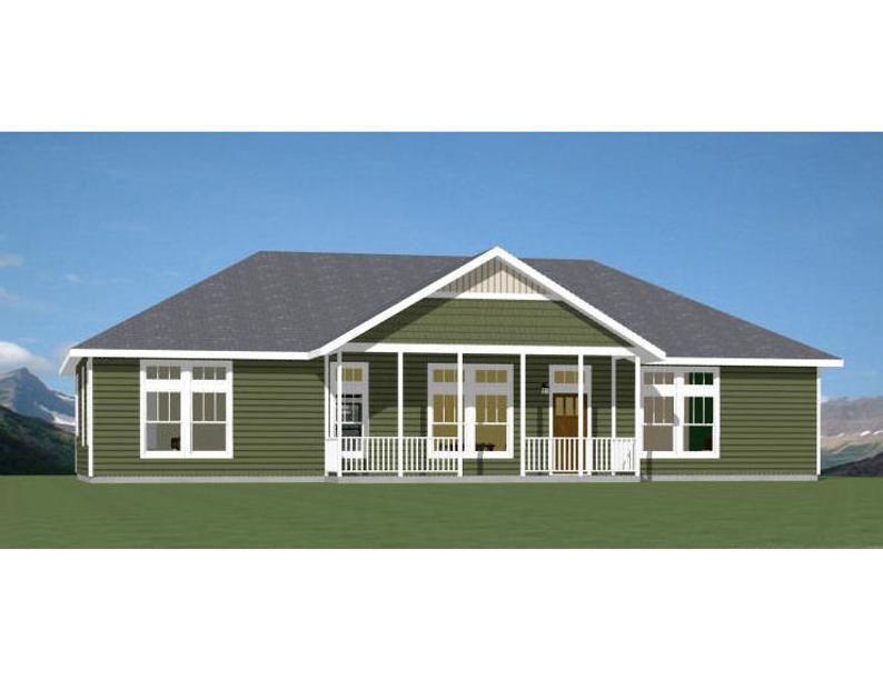60x30 House 3 Bedroom 2 Bath 1800 Sq Ft Pdf Floor Etsy In 2020 House Floor Plans 1500 Sq Ft House