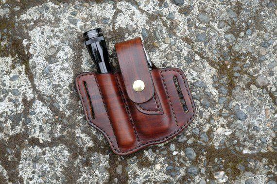Mini Maglite Flashlight Belt Holster