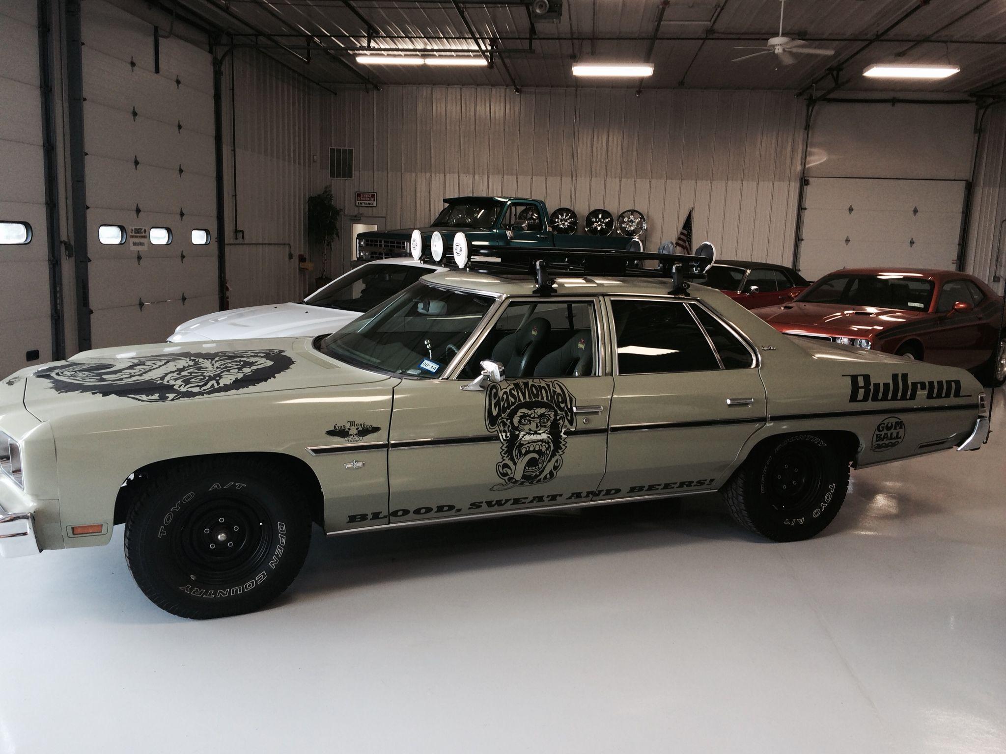 Gas Monkey Garage S Custom Caprice On The Showfloor Very Cool Car
