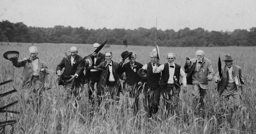 July 1, 1913: Former enemies come together at Gettysburg