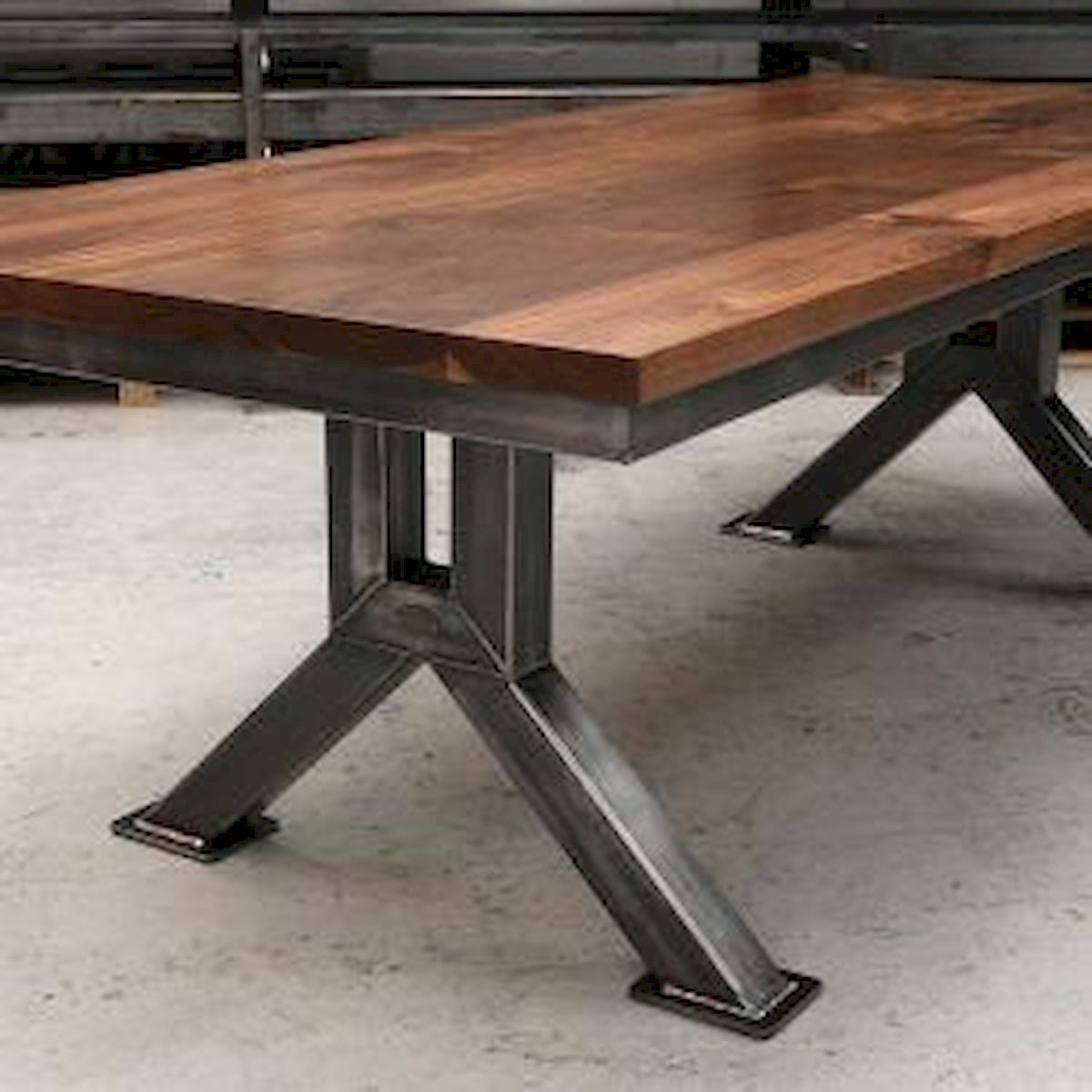 20 Special Industrial Table Ideas Steel Dining Table Industrial Style Dining Table Welded Furniture