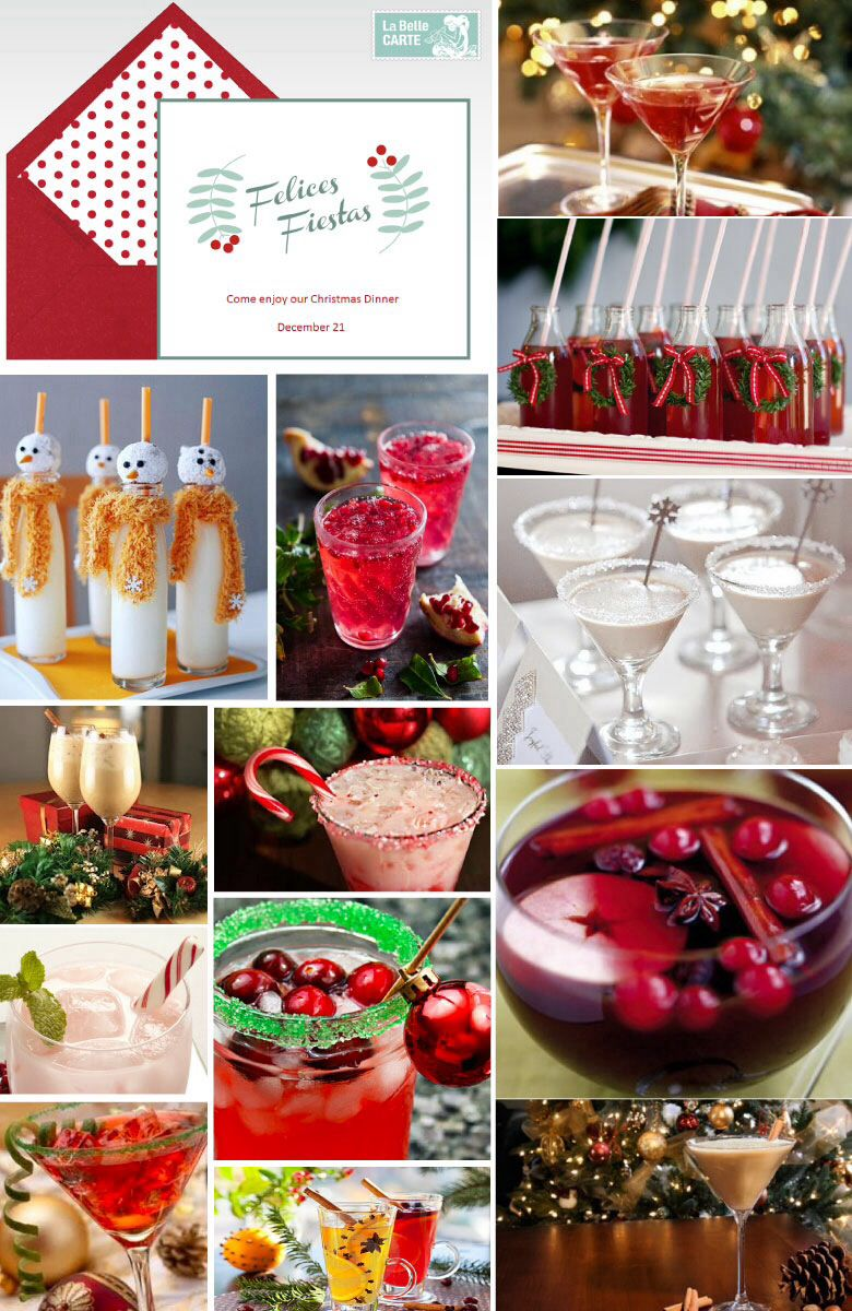 CHRISTMAS DINNER RECIPES: DRINKS AND ONLINE INVITATIONS FOR A ...